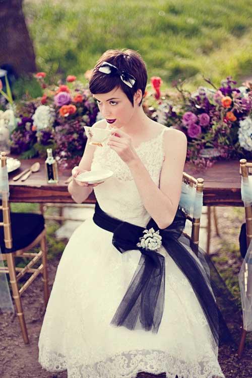 Bridal Short Hair Ideas-5