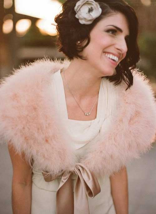 Bridal Short Hair Ideas-6