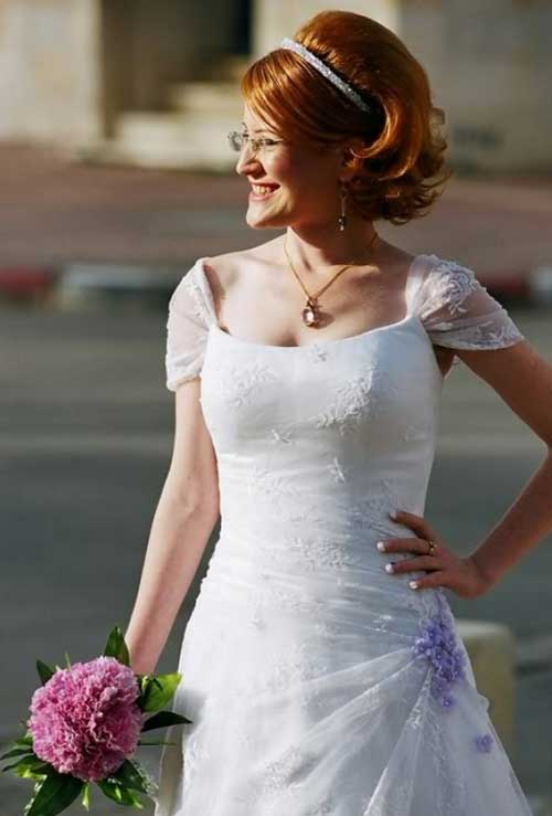 Bridal Short Hair Ideas-8