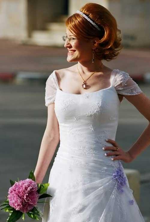 Bridal Short Hair Ideas-8