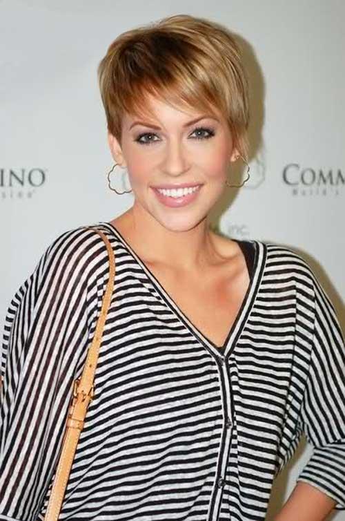 Celebrity Short Hair 2013-Farah Fath