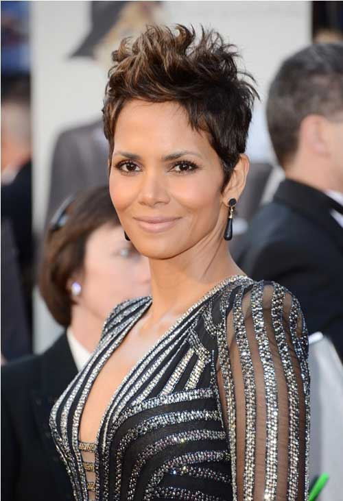 Celebrity Short Hair 2013-Halle Berry