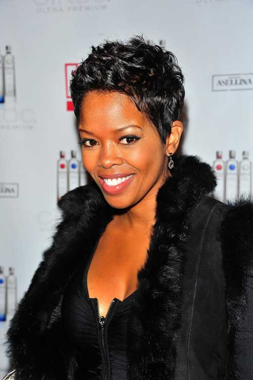 Celebrity Short Hair 2013-Malinda Williams
