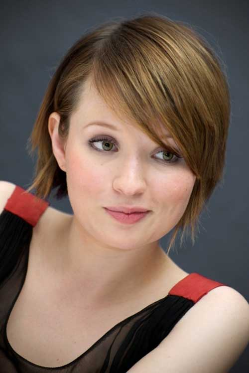 Celebrity Short Hair 2013-Emily Browning