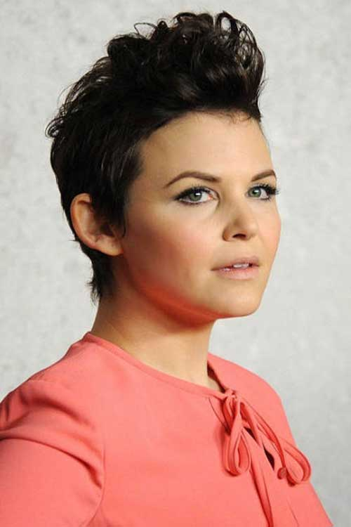 Celebrity Short Hair 2013-Ginnifer Goodwin