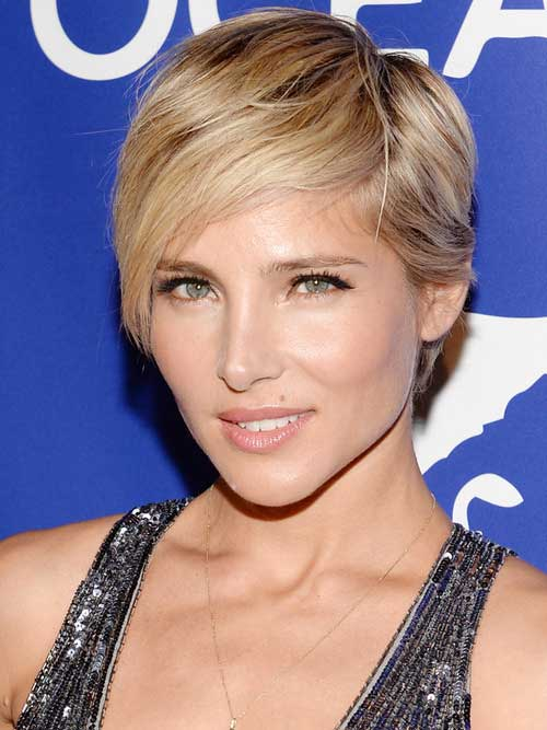 25 Celebrity Short Hairstyles For Women 2017