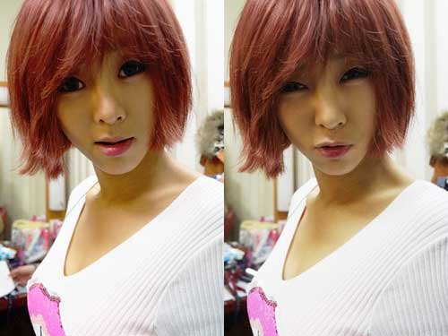 Cute Asian short hairstyles for girls