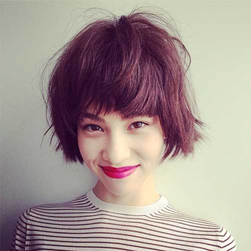Cute Hairstyles with Short Hair-6