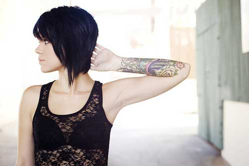 Cute Short Haircut Styles-9