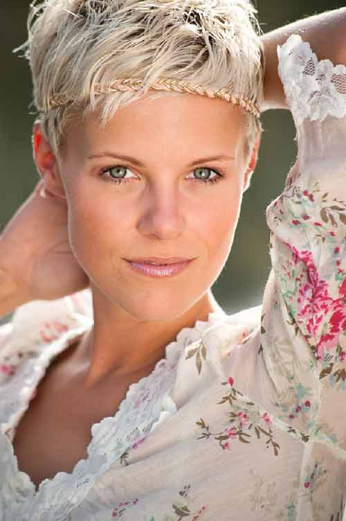 Short Blonde Hair Cuts Hairstyles