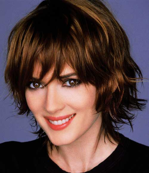 Pretty hairstyles for short wavy hair