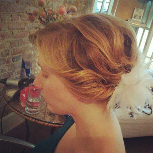 Cute short wedding hairstyles