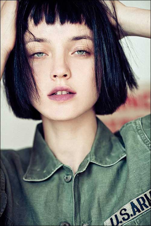 Easy Short Straight Hair Styles-4