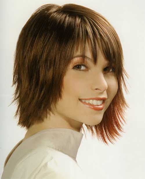20 easy short straight hair styles