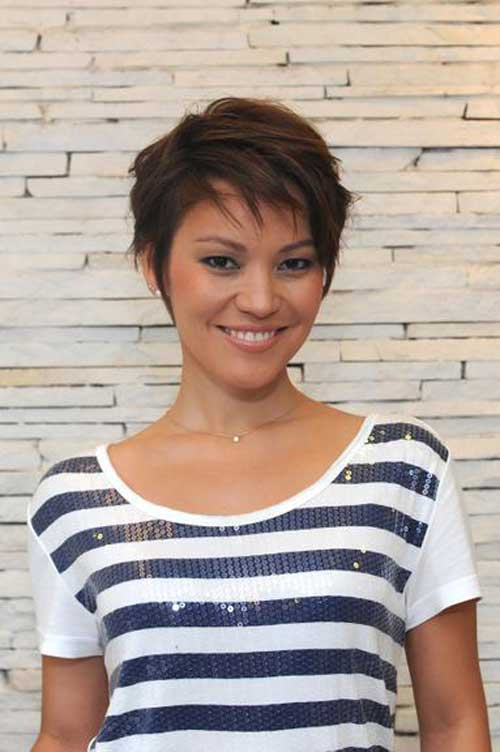 Admirable 20 Easy Short Straight Hairstyles Short Hairstyles 2016 2017 Hairstyles For Women Draintrainus