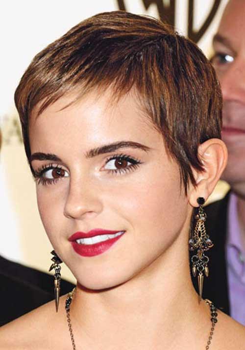 Emma Watson pixie cut pictures