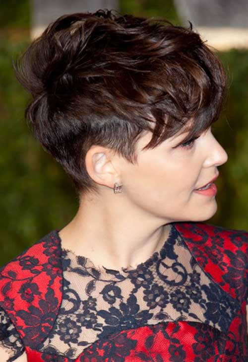 Best celebrity short haircuts 2013