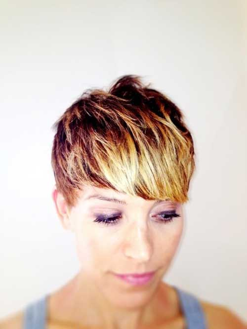 Hair Color Ideas for Short Hair-13