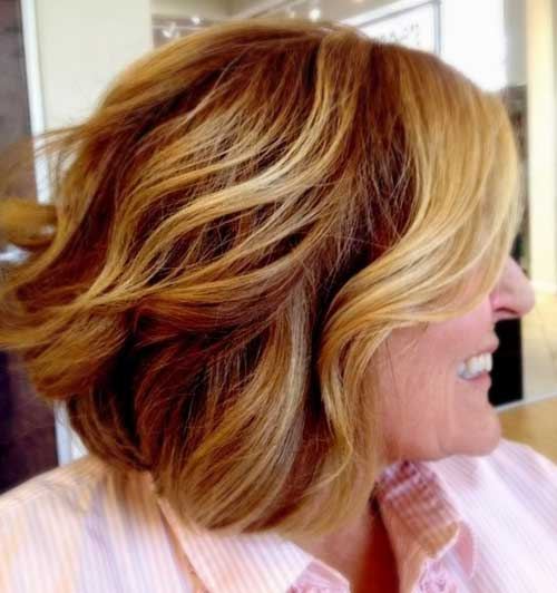 Hair Color Ideas for Short Hair-15