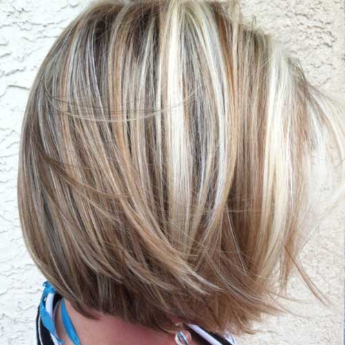 Hair Color Ideas for Short Hair-17