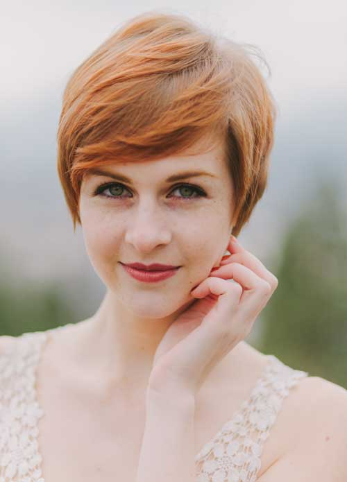 Hair Color Ideas for Short Hair-9