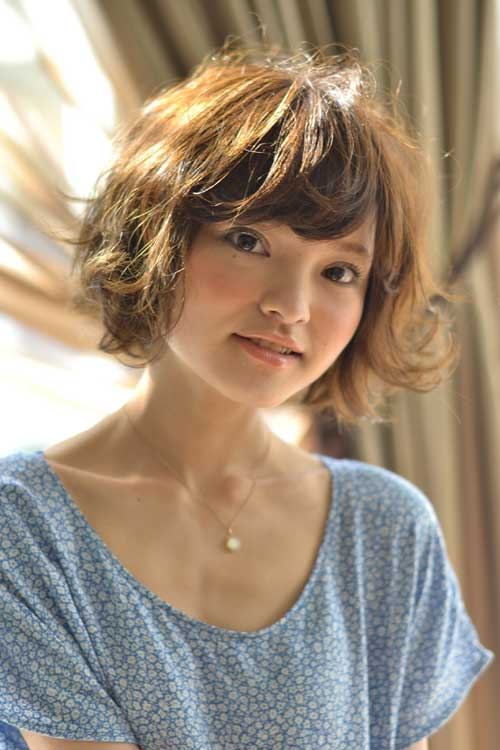 Cool 20 Short Hair With Bangs Short Hairstyles 2016 2017 Most Hairstyles For Women Draintrainus