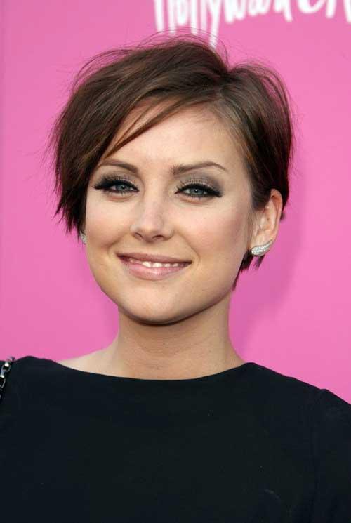 Cute short celebrity haircuts