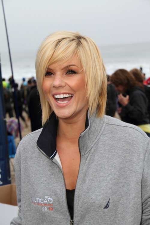 Celebrity short blonde hair 2013