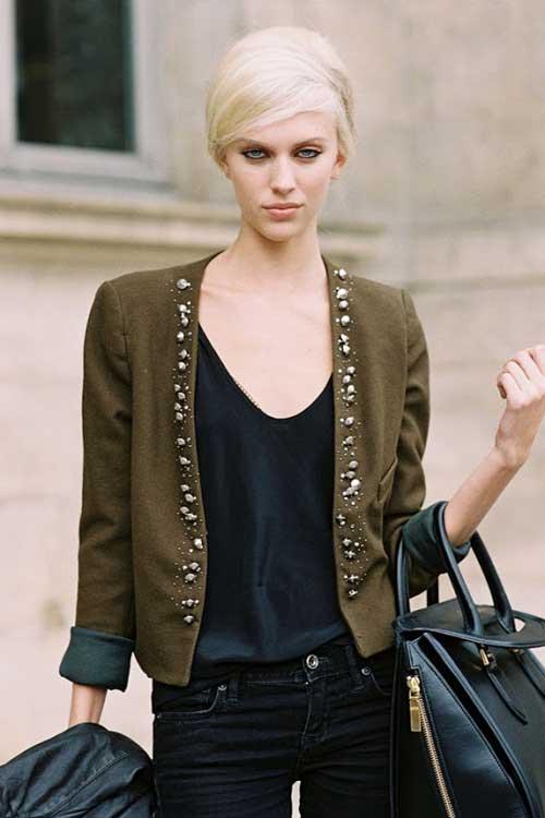 Latest Short Blonde Hairstyles-10
