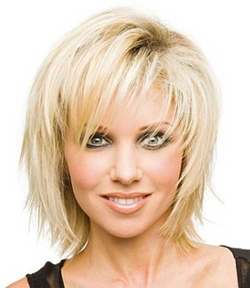 Latest Short Blonde Hairstyles-11