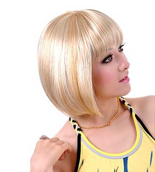 Latest Short Blonde Hairstyles-3