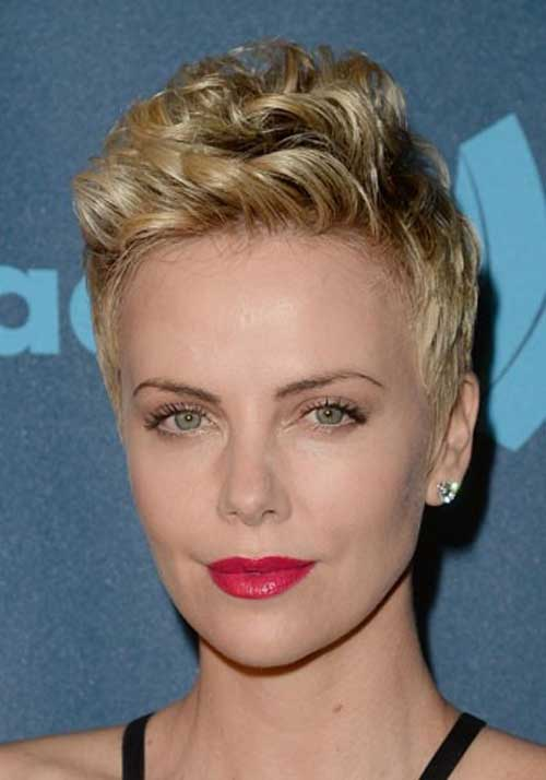 Latest Short Blonde Hairstyles-9