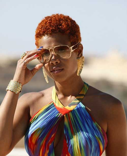 Latest Short Haircuts for Black Women-2