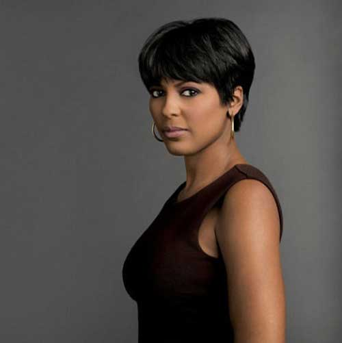 Latest Short Haircuts for Black Women-3