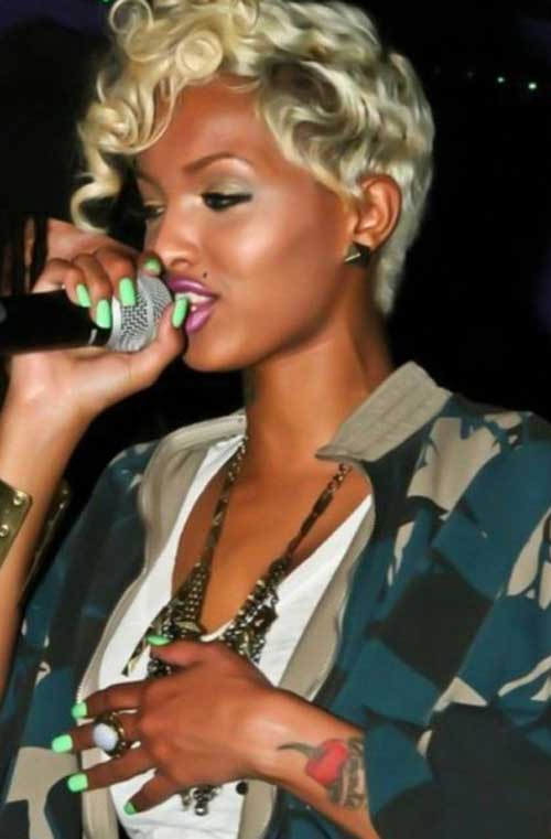 Latest Short Haircuts for Black Women-4