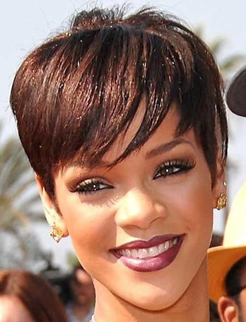 Brilliant Latest Short Haircuts For Black Women Short Hairstyles 2016 Hairstyle Inspiration Daily Dogsangcom