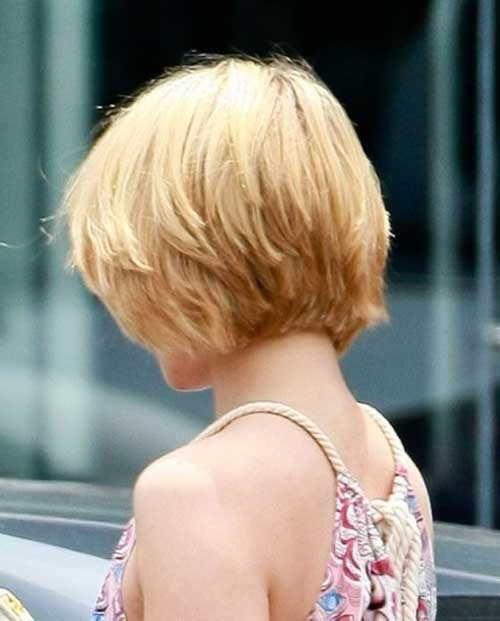 Layered bob hairstyles for short hair