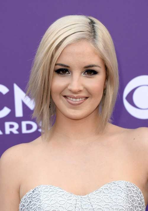 Short straight bob hairstyles 2013