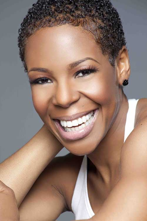Natural short hair cuts for black women