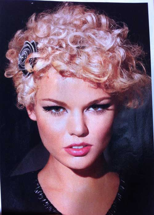 New Short Curly Hairstyles-12