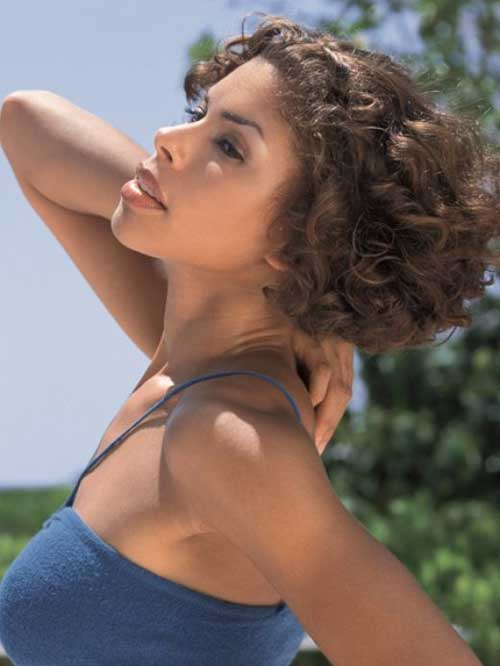 New Short Curly Hairstyles-24