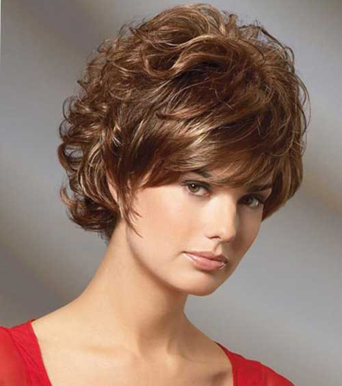 New Short Curly Hairstyles-5