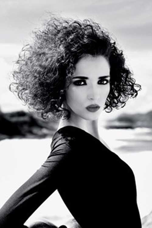 New Short Curly Hairstyles-7