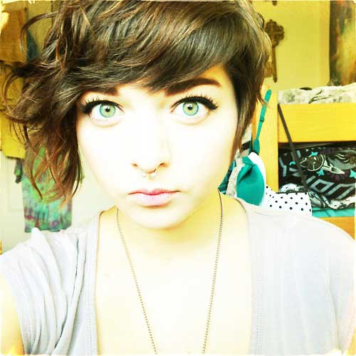 New Short Curly Hairstyles-8