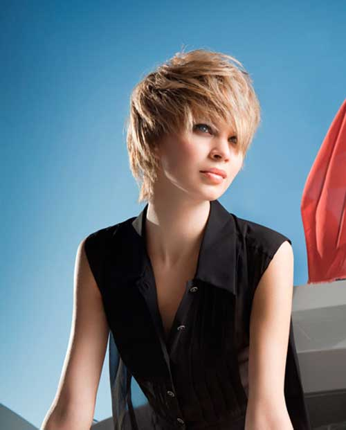 New Trendy Short Hairstyle-2