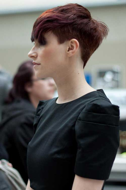 New Trendy Short Hairstyle-7