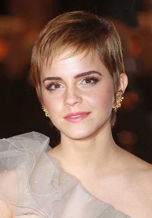 New celebrity short hairstyles 2013