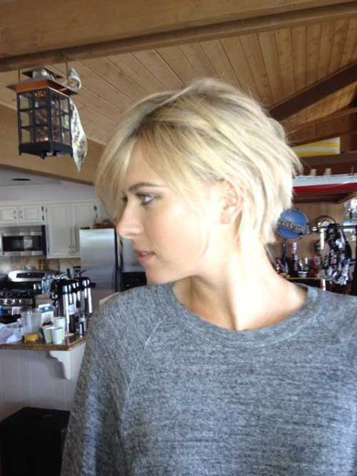 New short blonde hairstyles 2013