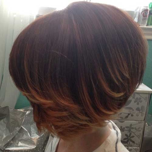 Short ombre bob hair