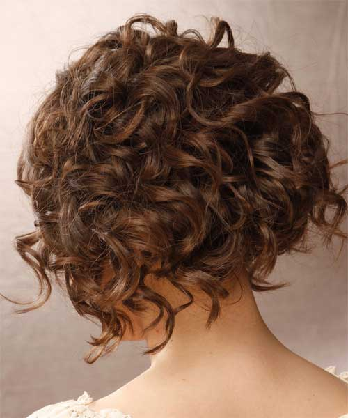 Photos of short curly hairstyles